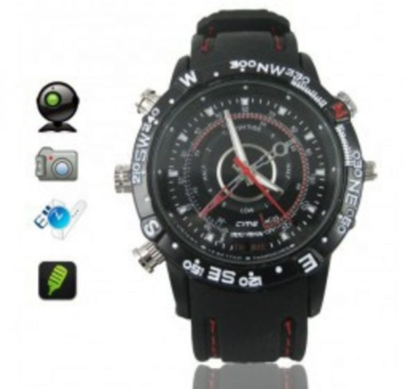 WATER PROOF WATCH CAMERA