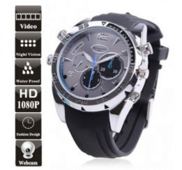 Watch with Hidden Camera